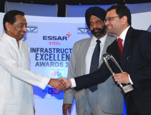 IRB wins the CNBC TV 18 Essar Steel Infrastructure Excellence Award for second time !!!